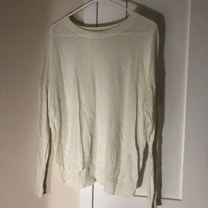 Madewell White Sweater - Size Medium